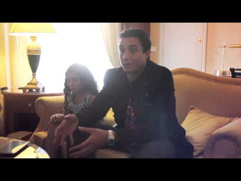 Ahmad & Lina Farouk El Fishawy Exclusive Interview- Part I