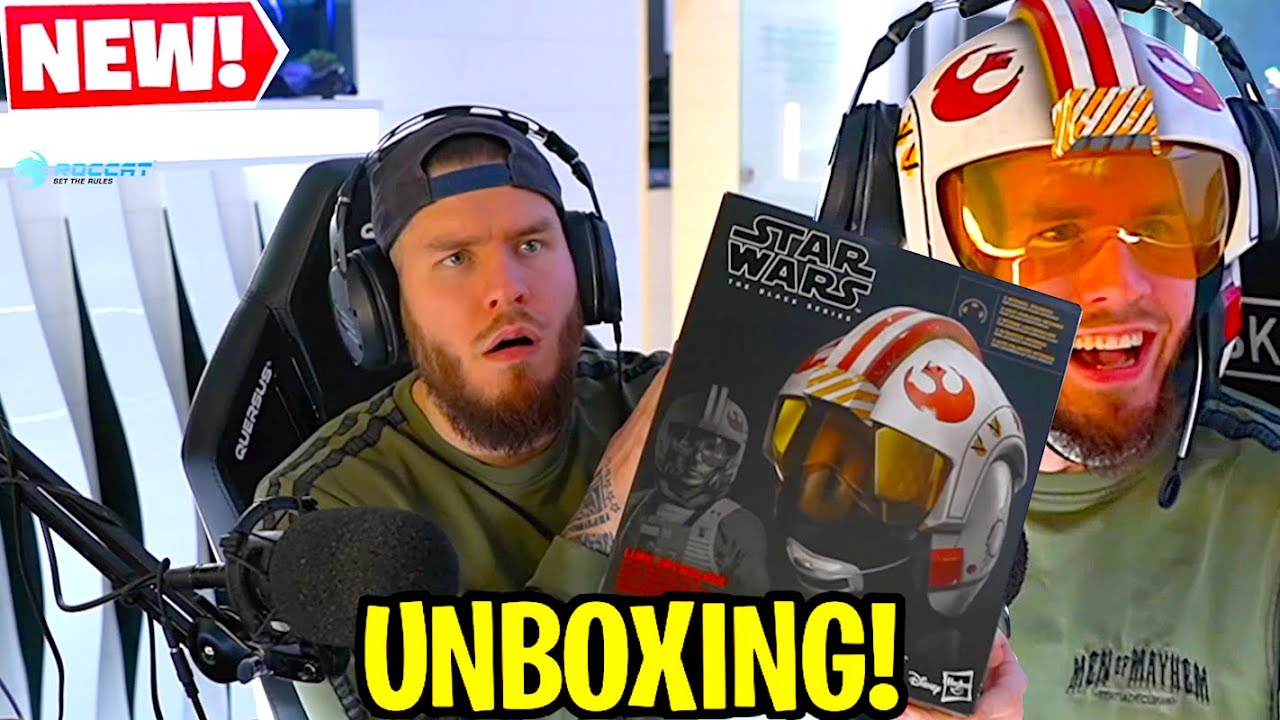 STAR WARS XWING HELM! 😱 | Standart Skill Unboxing