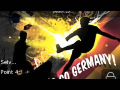 "German Football Team ""We R the Champions"""