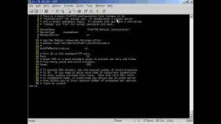 리눅스 동영상강의 제19 2강 FTP서버 실습