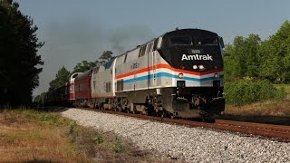 (HD) Chasing Amtrak AAPRCO Mississippian Special