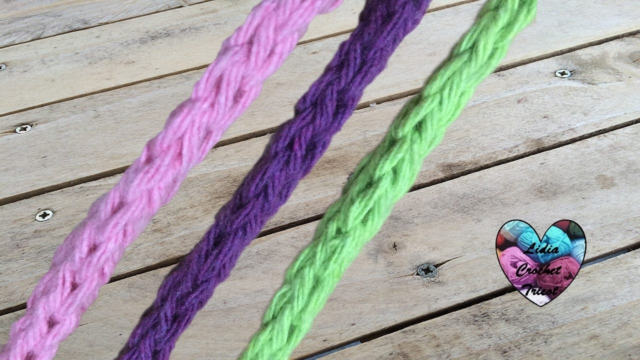 Cordon I Cord Crochet I Corde Crochet English Subtitles Youtube