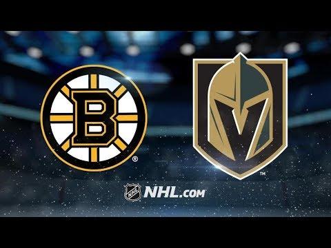 Boston Bruins Vs. Vegas Golden Knights   NHL Game Recap   October 15, 2017   HD