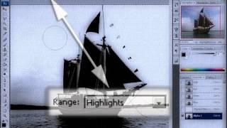 Сложное выделение в Photoshop. Маска на основе изображения канала