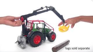 Bruder traktor leśny 936