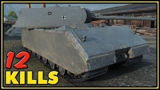 Maus - 12 Kills - World of Tanks Gameplay