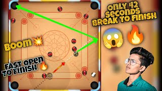 Only 42 seconds break to finish 🔥 Carrom pool | Fast Break To Finish 🔥 | Carrom pool | Gaming Nazim screenshot 1
