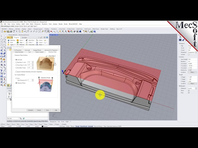 RhinoCAM 2021: Introduction to 3 Axis Machining