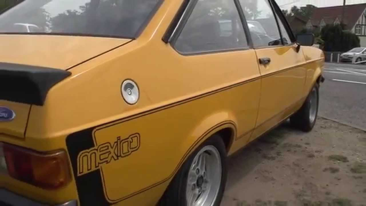 Ford Escort Mexico For Sale - XDF 456S - YouTube