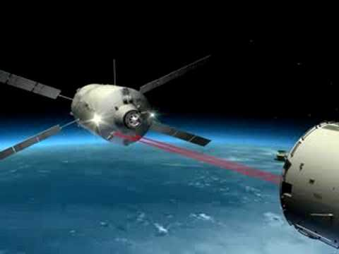 Animation of Jules Verne ATV departure, docking with the International Space Station and controlled reentry over Pacific Ocean