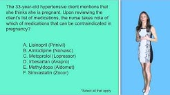 NCLEX Question: Pregnancy & Medications