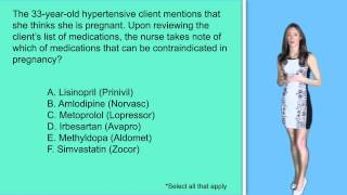 NCLEX Question: Pregnancy & Medications