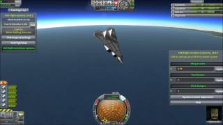 Kerbal Space Program - Improved Aerodynamics With Ferram Aerospace Research Mod