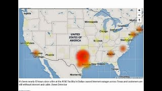 Dallas AT&T Requires Modem ReBoot after Fire Caused Outage