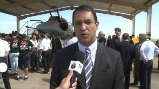Embraer moderniza aeronave AF-1B da Marinha do Brasil