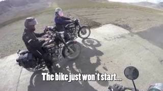 father and son s motorcycle trip to the highest road in the world full video