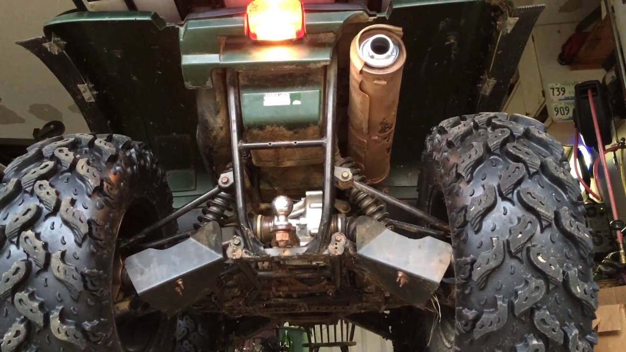 Atv Yamaha Grizzly 660 Power Tip Exhaust Mod