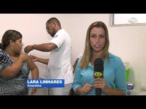 "Band Cidade - ""Estoque de vacina contra a febre amarela"""