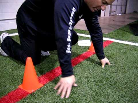 NFL Combine: Correcting The 40-yard Dash Starting Position With Joe DeFranco - Part 3