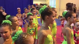 Новогоднее выступление шоу балета на воде «Калипсо» 2017