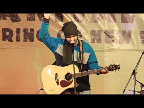 Gulaabi Aakhen or Aadat cover by Harfan (SaBr)...At R.I.E.T College Jaipur