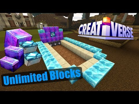 "Creativerse | How To Duplicate Any Block ""UNLIMITED BLOCKS!!!"""