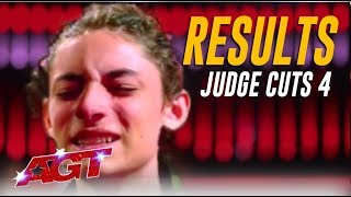 RESULTS: Simon Goes Off Script In NAIL BITING Moment! Did Your Faves Make It?   America's Got Talent