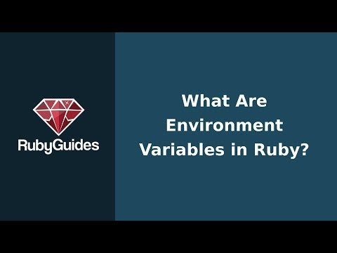 What Are Environment Variables in Ruby?