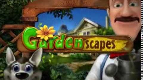 Online Wimmelbildspiel Gardenscapes kostenlos spielen