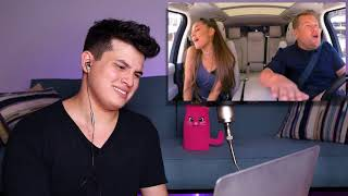 Vocal Coach Reaction to Ariana Grande's Carpool Karaoke
