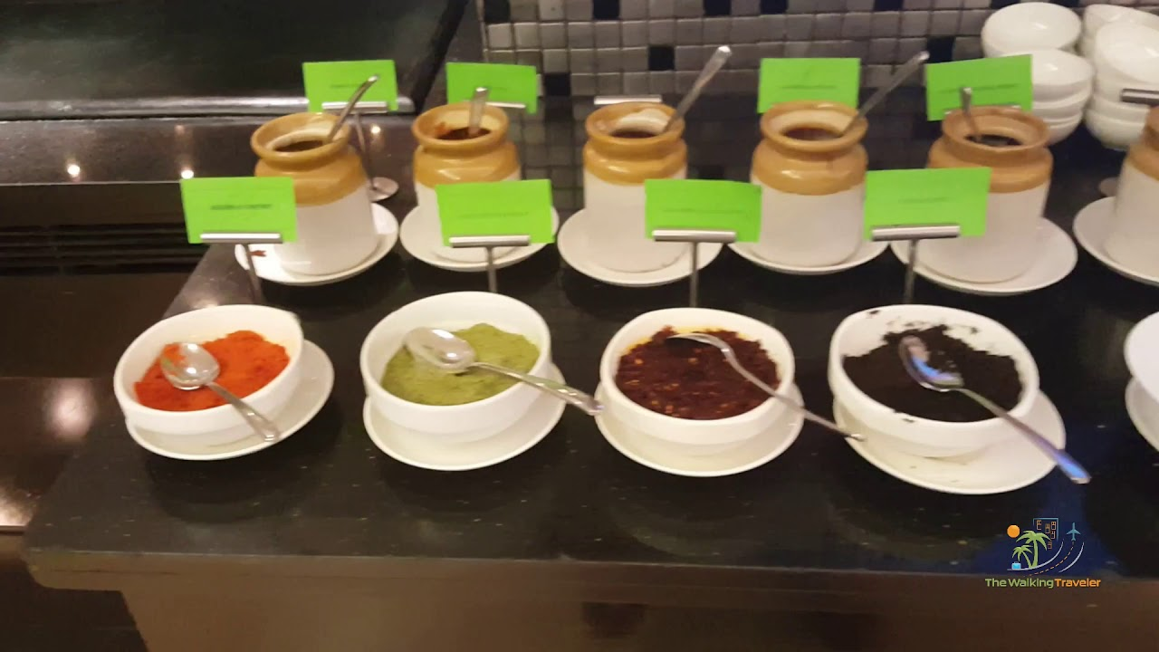 Hotel Sahara Star, Mumbai India Dinner Buffet travel & events vlog adventure