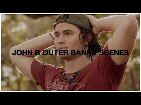 Hot John B Outer Banks scenes