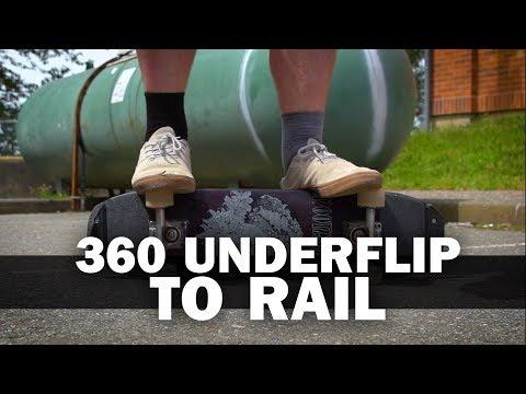 360 Underflip to Rail: Matthew Smithies    ShortSided