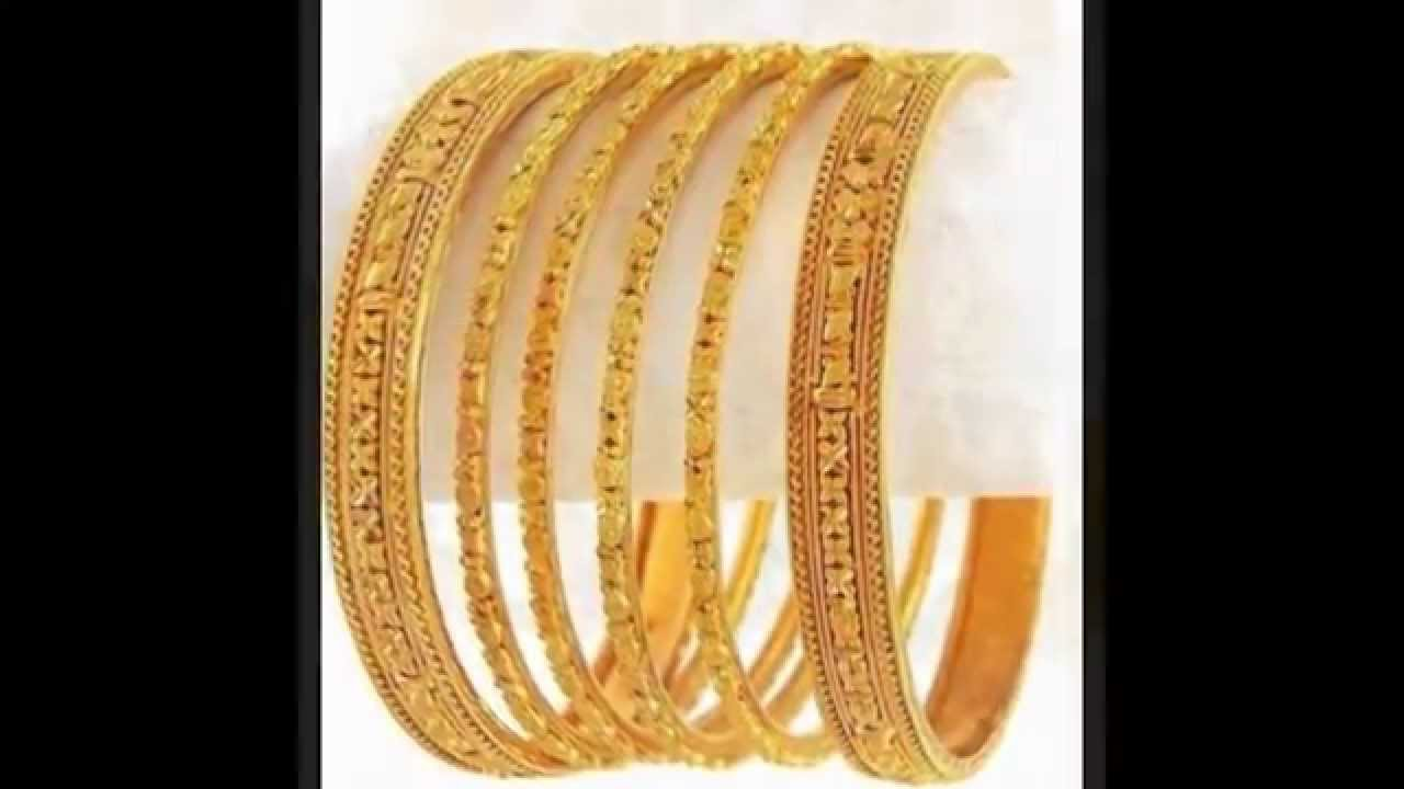 Latest Necklace Earring & Bangles Gold Design in 2016 - YouTube