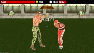 Dirty Fighter 2 Ballbusting