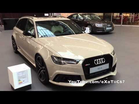 Audi RS6 Mocha Latte spotted at Neckarsulm Forum
