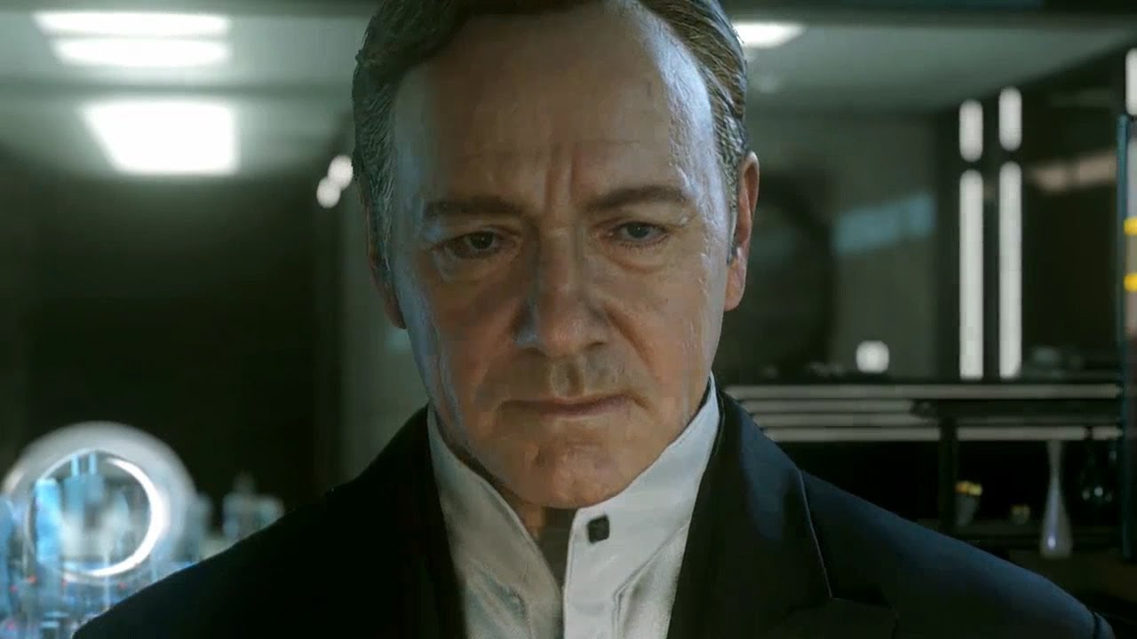 Call Of Duty Advanced Warfare Trailer Kevin Spacey Youtube