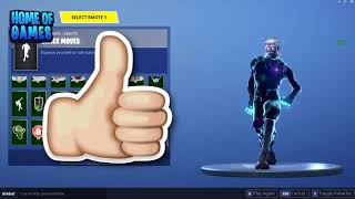 Fortnite Galaxy Skin Service