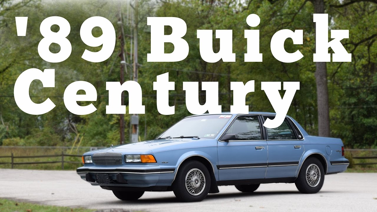 1989 buick century custom regular car reviews youtube. Black Bedroom Furniture Sets. Home Design Ideas