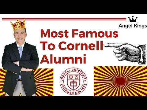 Cornell University Alumni: Most Notable and Famous Graduates - AngelKings.com