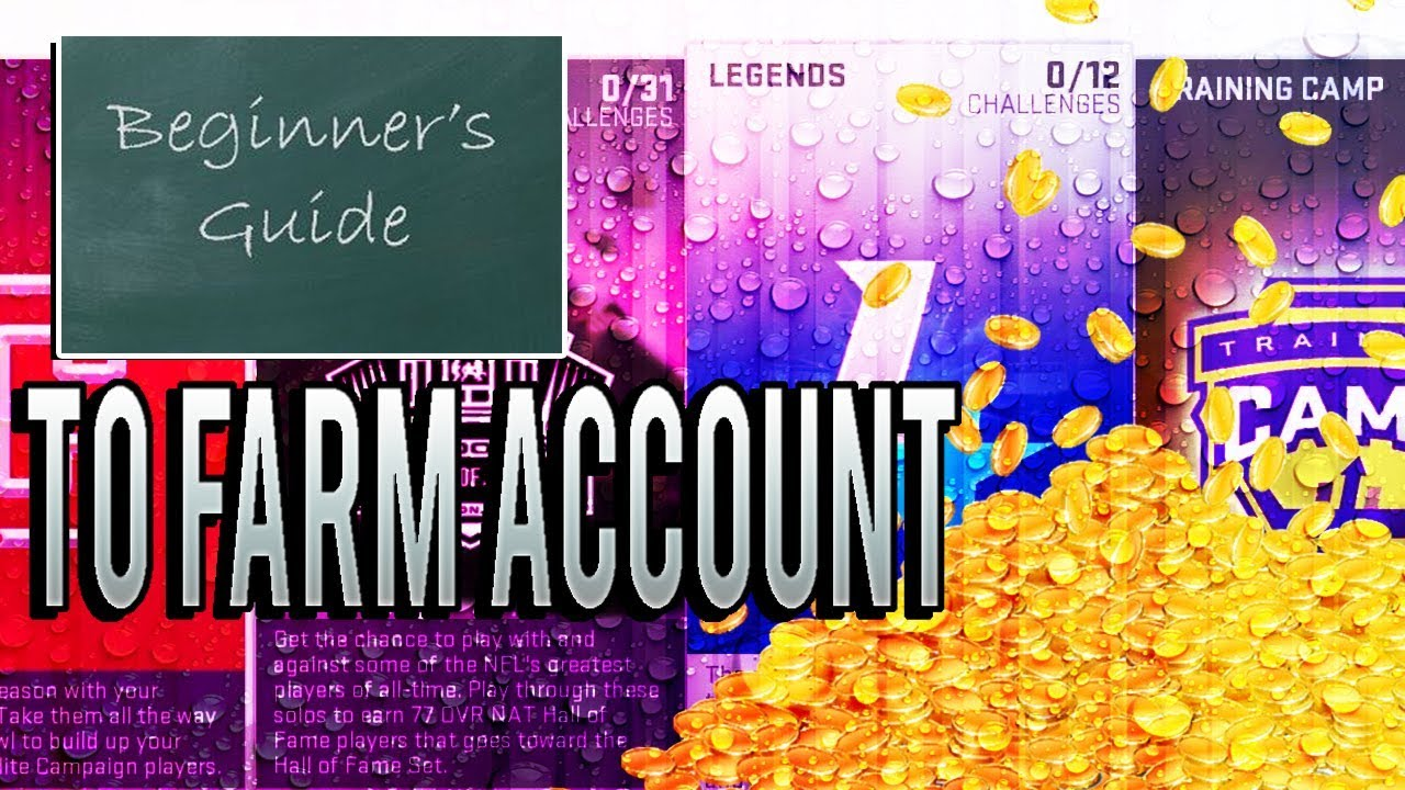 Beginners guide to how to use farm accounts! Best solos and.