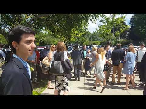 Andrews middle school graduation 2018