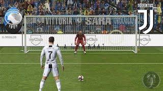Coppa Italia • Atalanta Vs Juventus (Calci di Rigore) | PES 2019 Patch [Giù]