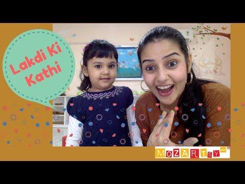 LAKDI KI KATHI | Nursery Rhymes and Kids Songs | Hindi Rhyme | Mozartsy TV | Sonam Aunty