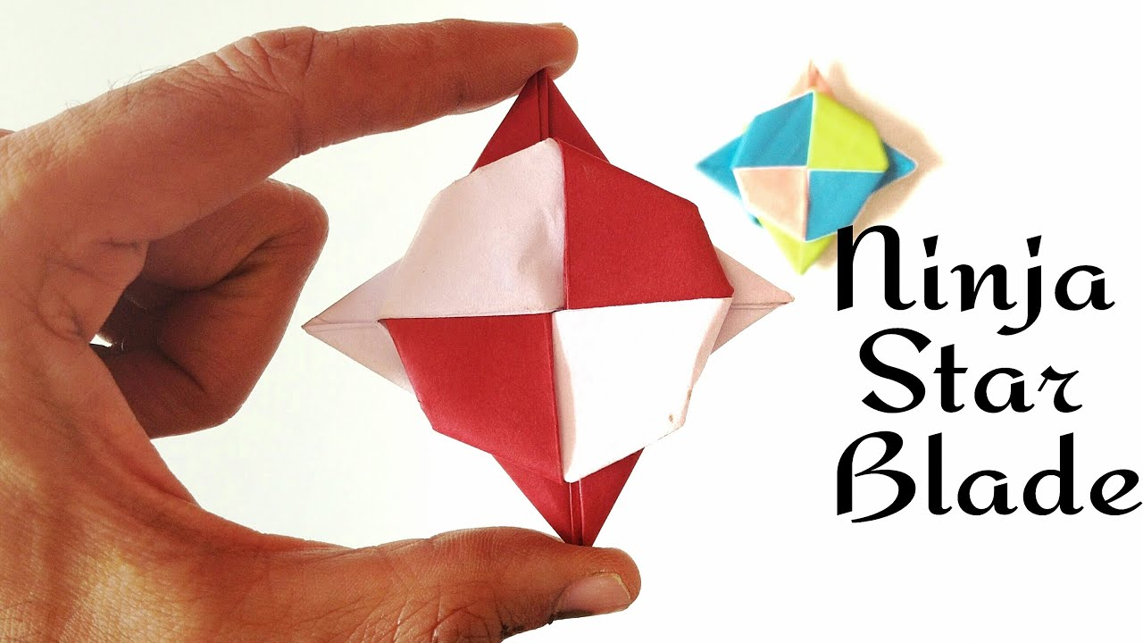 Super Spinning Ninja Star Blade Shuriken - Spin it 3 ways ... - photo#22