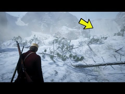 Avalanche Found Outside The Map! UFO Sounds Explained! (Red Dead Redemption 2) thumbnail
