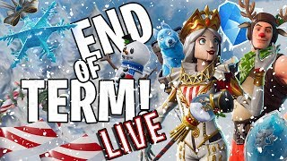🔴 ⚠ END OF TERM ⚠ - FORTNITE SEASON 7 - CRACKABELLA & RAIDER - NEW CHRISTMAS SKIN 🎄