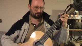 Carcassi Study Op 60 no 7 (in A minor) - video lesson.