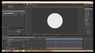 Шейповая заставка в After Effects видеоурок | Tutorial motion design