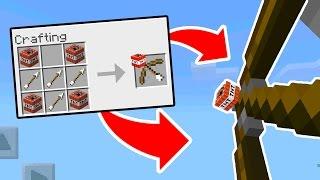 How To Make SECRET TNT ARROWS in Minecraft PE // Minecraft Pocket Edition SECRET COMMAND BLOCK ARROW